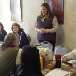 Image of Heather Bosh Talking about State 4-H Horse Show